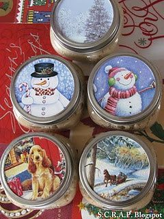 Ways to Upcycle Holiday Cards After the Season #Christmascrafts #WithMasonJars