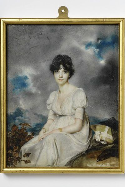 Portrait of a Lady by George Chinnery,c.1810