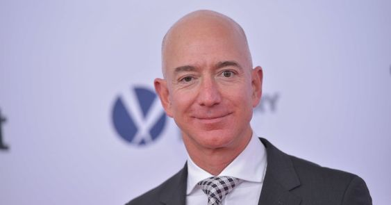 Jeff Bezos, the CEO of Amazon is the richest man
