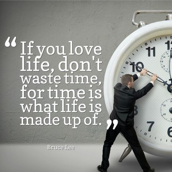 quote about time for minimalist living