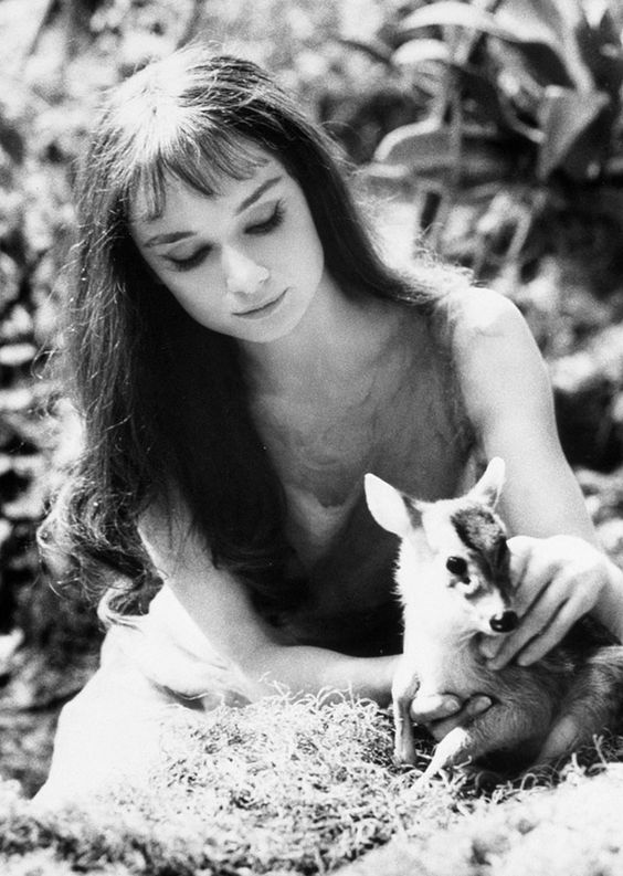 """If I'm honest I have to tell you I still read fairy-tales and I like them best of all."" –Audrey Hepburn, who would have turned 85 yesterday. #Refinery29"