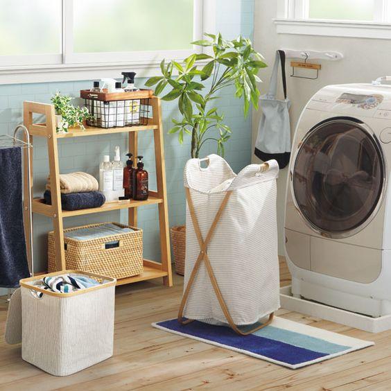 ニトリ・無印良品・IKEAのおすすめランドリーバスケット22選!洗濯をおしゃれに快適に♪