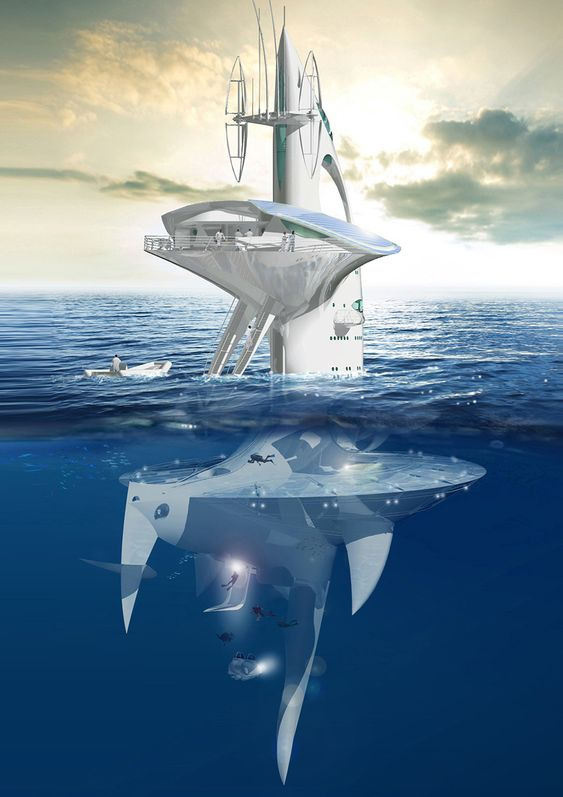 Sea Orbiter architecture 4 architecture Leaders That Will Change the World 9139294617dad0fbef7d3d8749fdca55