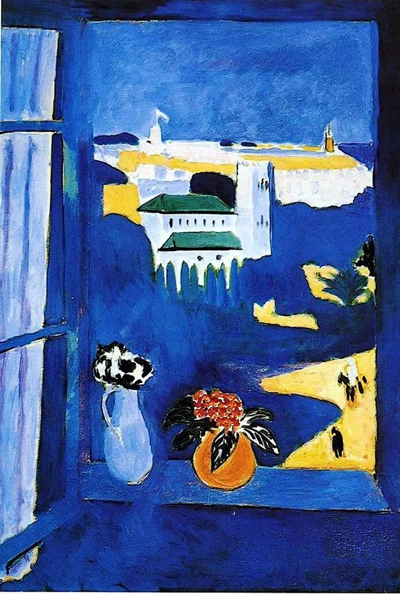 Window at Tanger, 1912 Henri Matisse
