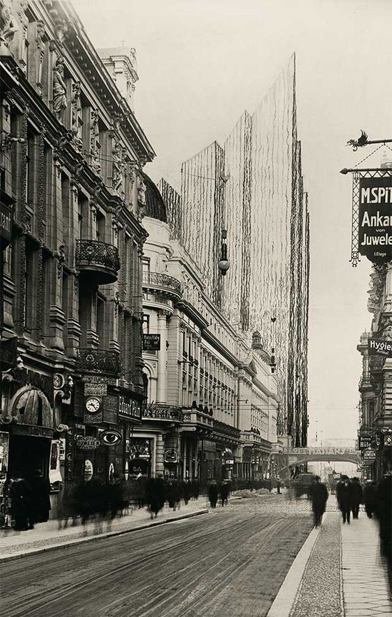 Freidrichstrasse Skyscraper Project 1921