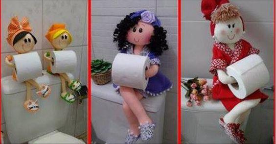 porta rotolo di carta igienica Ecco come fare un Simpatico e Originale Porta Rotolo di Carta Igienica Se ami il fai da te ecco come fare un sim