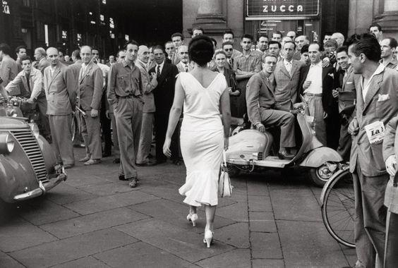 Post war Italy. Image via Pinterest.