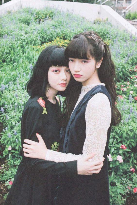 編み込みヘアがオシャレで可愛い小松菜奈