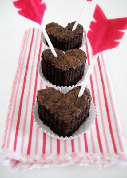Brownies al #cioccolato e frecce di #cupido.