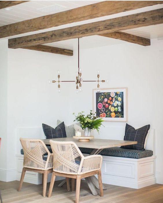 Adorable Cozy Kitchen Nook