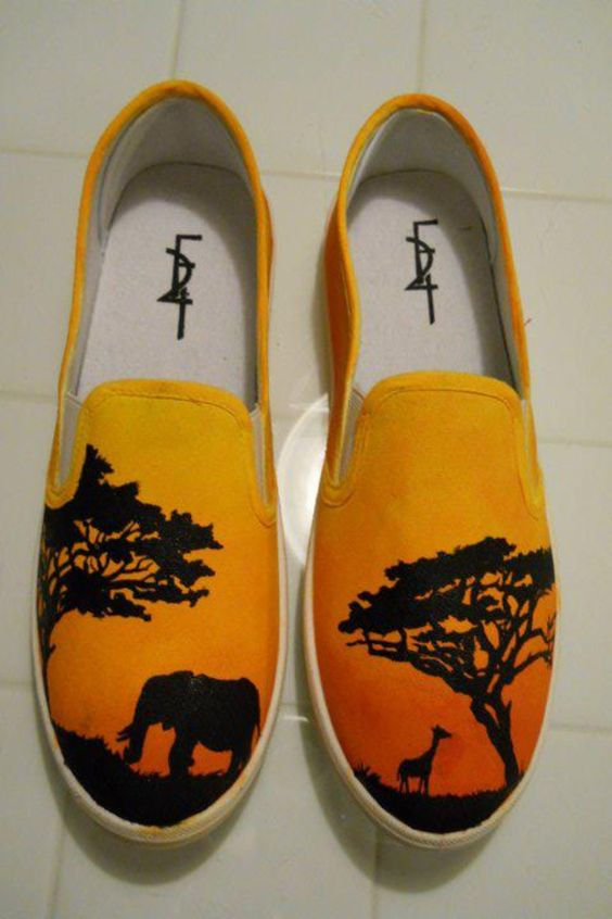 Trending Painted Shoes