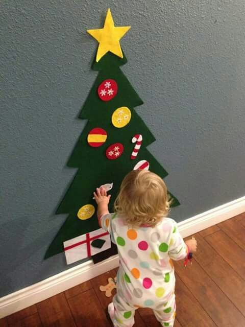 Montessori christmas tree