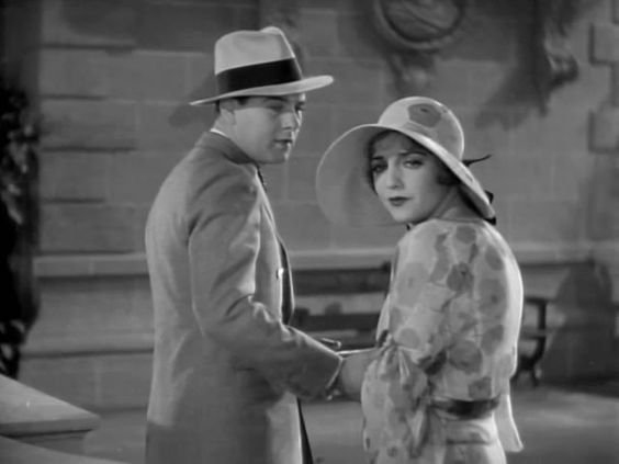 "Ben Lyon, Bebe Daniels, in ""My Past"" (1931)"