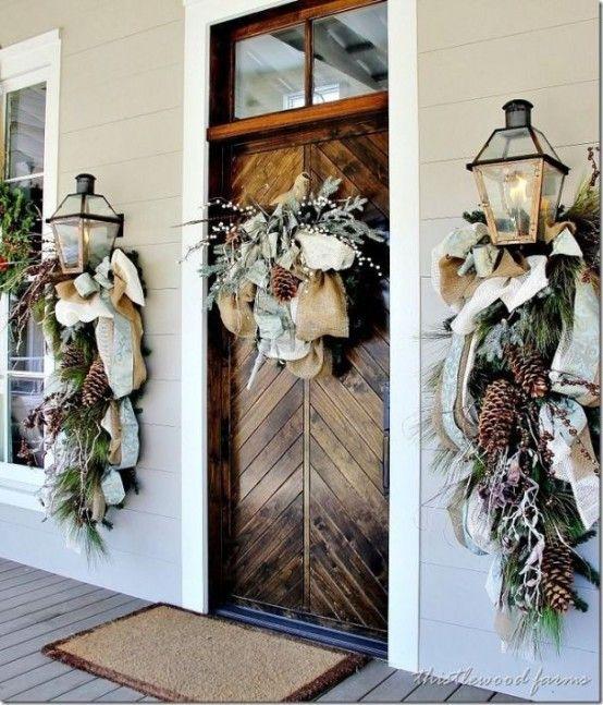 Galleria foto - Come addobbare la porta d'ingresso per Natale Foto 40