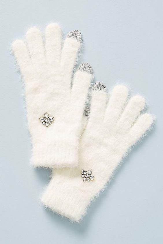 Slide View: 1: Edan Eyelash Gloves
