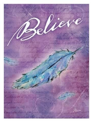 Giclee Print: Believe by Flavia Weedn : 16x12in