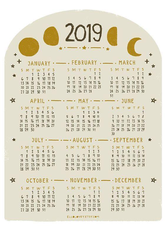 CALENDARIOS 2019 ORIGINALES | Imágenes para whatsapp
