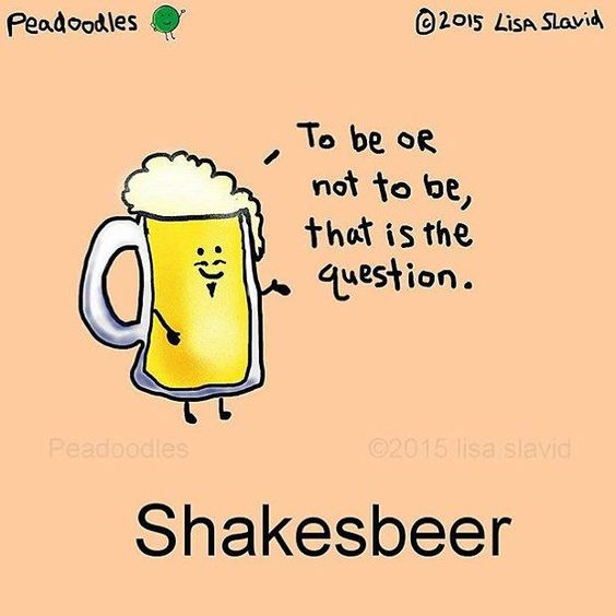To beer or not to beer