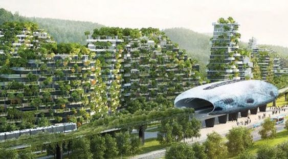 Forest City - Liuzhou, Chine architecture 4 architecture Leaders That Will Change the World b1d47bbfde777572abf52e3bb16c590f