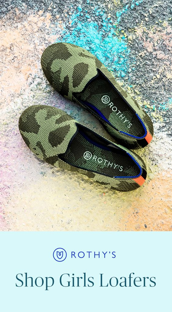 Meet our cutest and tiniest shoes yet - the Rothy's Girls Loafer. Ideal for back to school or a picnic in the park, her Rothy's will take her through the day in confidence and style. And just remember: when they get dirty, you can throw them in the wash so she doesn't have to skip a beat. #RothysGirls