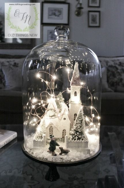 Winter Decor 019 (Dollar Store Diy Projects)