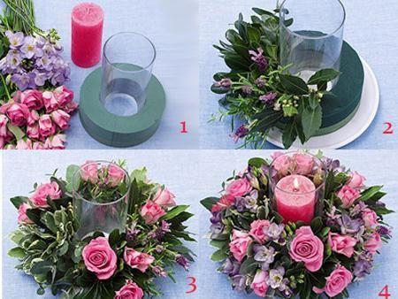 Arreglos florales paso a paso #mujerconestilo #flores #decoración