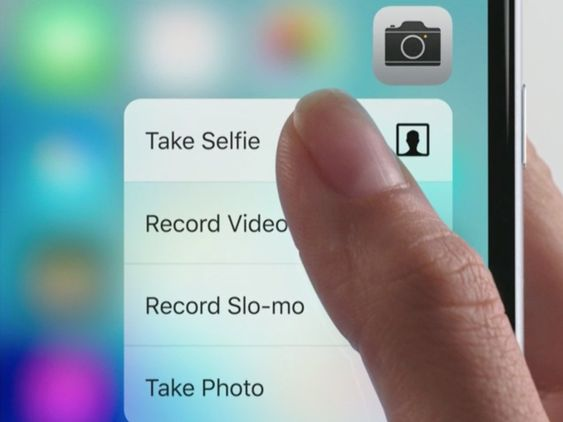 Apple would be removing the 3D touch as it of no use to its customers.