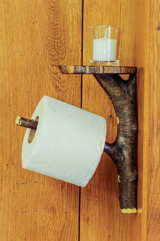 One of the important accessories that you should consider in your bathroom is the toilet paper holder. It could add a touch of style and brighten your dull bathroom. Selecting a unique and eye-catchy holder could make a huge difference to your bathroom. Here are 12 clever and creative toilet paper holder ideas which will inspire you to have your own unique toilet paper holder.