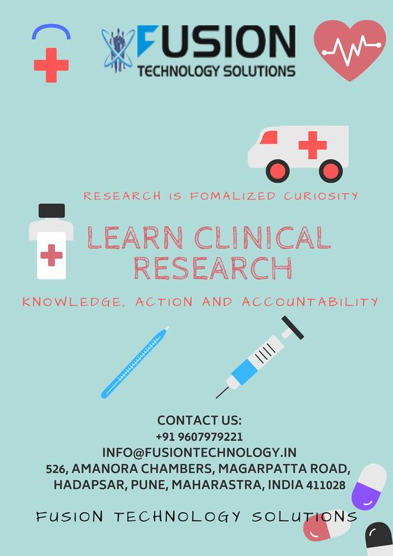 Fusion Technology Solution is offering a Best Clinical Research courses in Pune with 100% written job guarantee