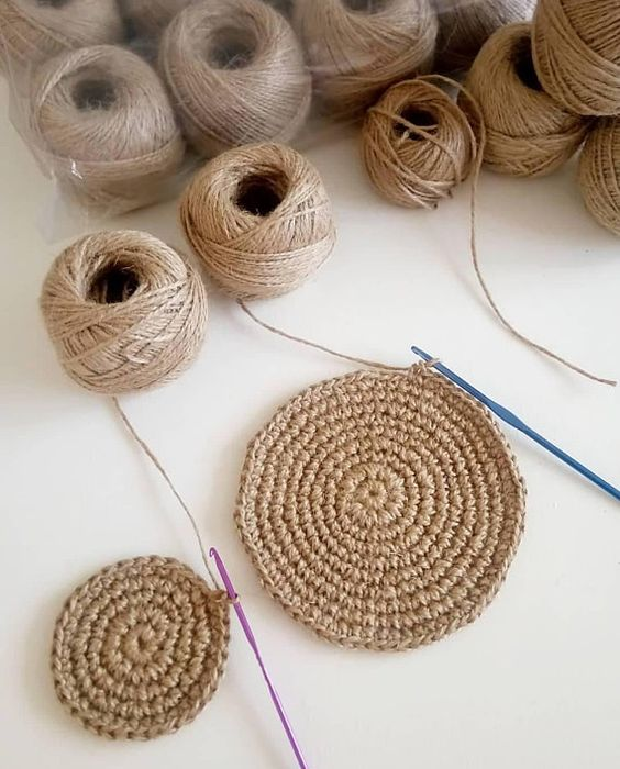 jute yarn, 2mm Natural Jute Twine Rope Cord Non-Polished Gift Wrap, Packaging, eco-friendly jute yar