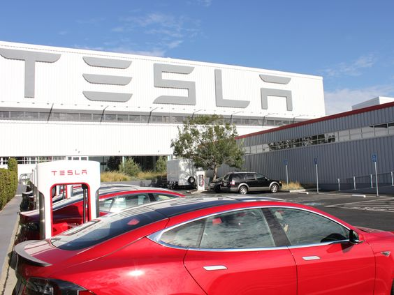 The headquarter of Tesla Inc