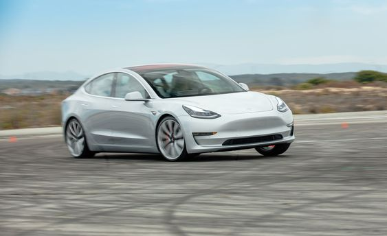 Model 3 of Tesla which will be manufactured in the Gigafactory