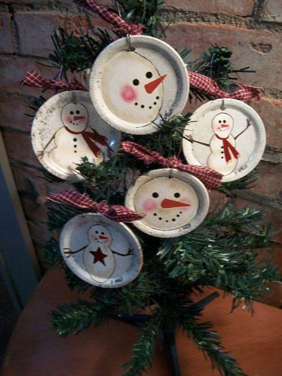 Σηκώστε τα μανίκια ψηλά και ελάτε να φτιάξουμε υπέροχες Χριστουγεννιατικες κατασκευές με κονσερβοκουτια! Οι ιδέες που θα δείτε πολλές ,όρεξη να έχετε να φτιάχνετε! Με μια απλή ετικέτα ένα κομματάκι δεντρο δειτε τη θαύματα μπορούμε να κάνουμε Δετρακια
