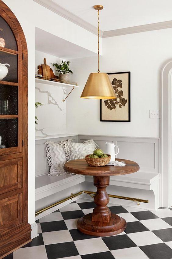 Dizzy Cozy Kitchen Nook