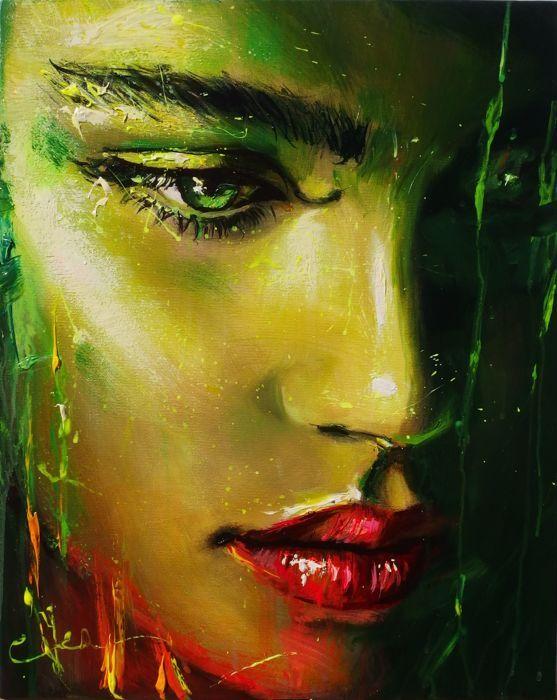 Ewa Switala - Back To You  Oil and Acrylic