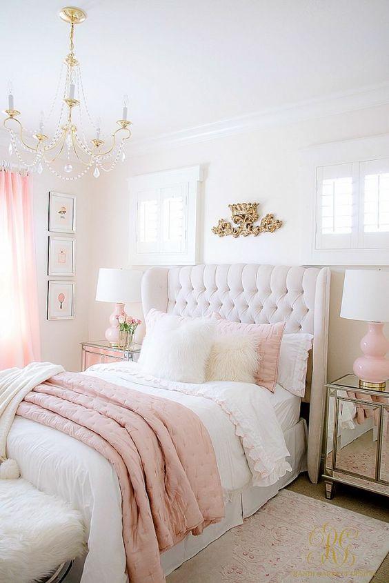 Adorable Romantic Bedroom