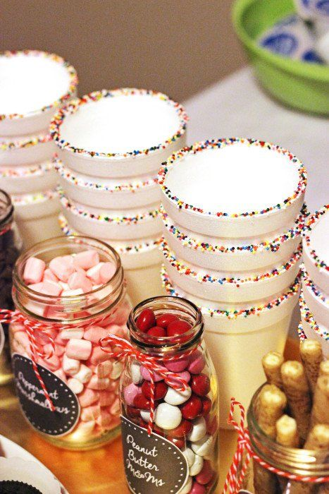 Easy Ideas for a Hot Chocolate Bar - Sweet T Makes Three