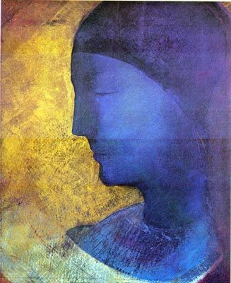 """My drawings inspire, and are not to be defined. They place us, as does music, in the ambiguous realm of the undetermined.""  Odilon Redon"