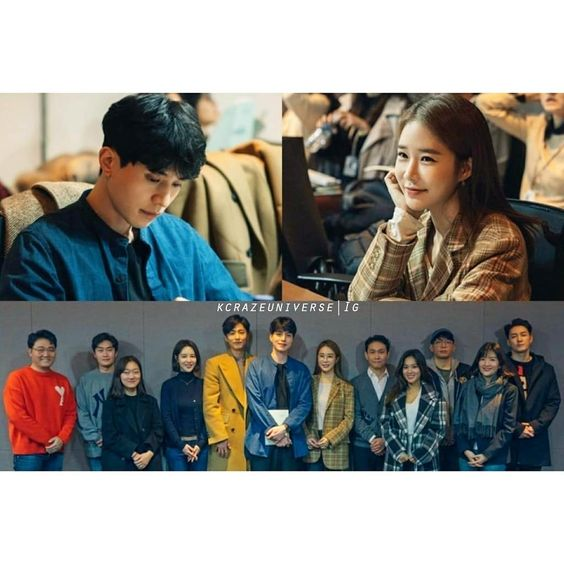 "Lee Dong Wook, Yoo In Na, And More Gather For 1st Script Reading Of Upcoming tvN Drama ""Touch Your Heart"" (literal translation)."