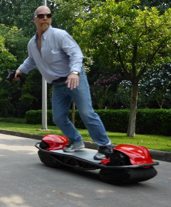 Scarpar: Electric skateboard that can dominate any terrain. #products #tech - rePinned by SocialMagnets.net