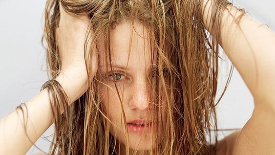 tóc nhờn