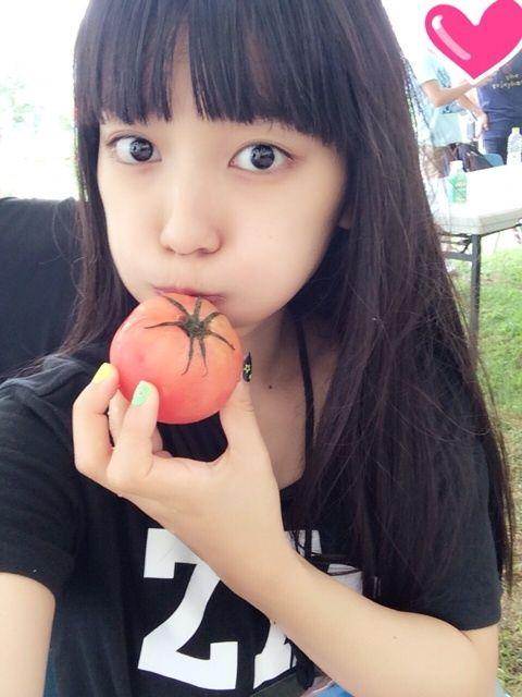 トマトにくちづけるmiwa