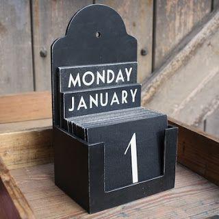 Милые сердцу штучки: Home sweet home: Вечный календарь (большая коллекция интересных идей)