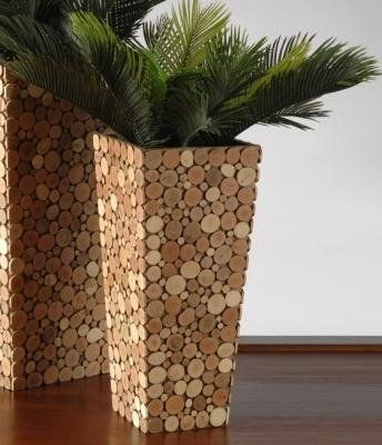 Planter,rustic planter, outdoor planter,indoor planter,raised planter,entryway planter,corner plante