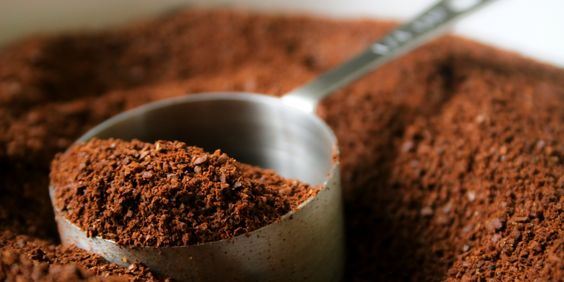 Don't Throw Out Your Leftover Coffee Grounds! Reuse them for everything from fertilizer to body scrub, they can even be used as a wood stain!