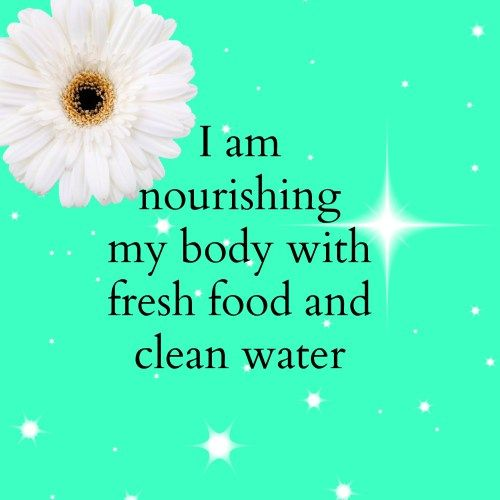 Nourishing my body ~ Affirmations for weight loss. Click through for more