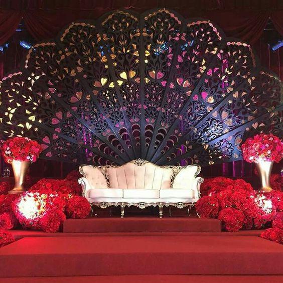 Gorgeous Pelamin/Dais by Wedding Planner Reka Teemor. Credit : Fb Rizal Hakimm