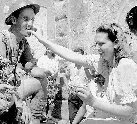 Wartime Italy. Image via Pinterest.