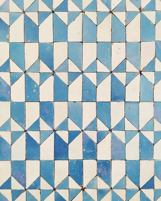 More tiles from yesterday's trip to the tile museum in Lisbon. Via Rebecca Atwood