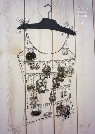 A DIY version of this wouldn't be too difficult. I'll include a spot for post earrings, necklaces and bracelets also.